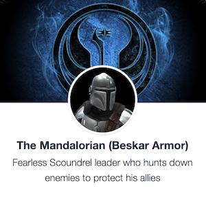 The Mandalorian Beskar Armor - SWGoH