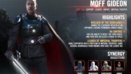 Moff Gideon - SWGoH
