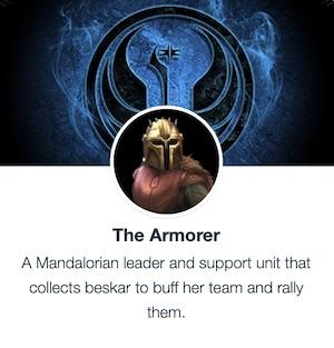 Armorer - SWGoH