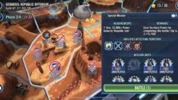 SWGoH - Batallas territoriales