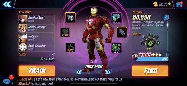 Homem de Ferro - MSF