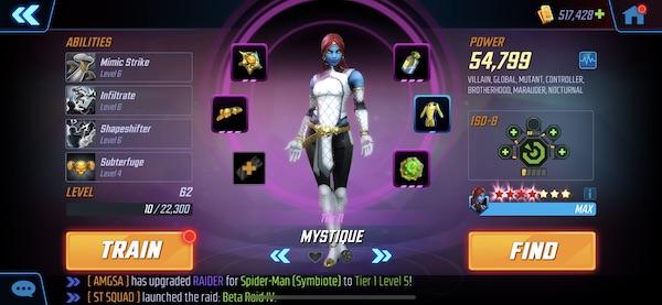 Mystique - MSF