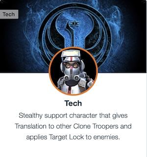 Tech - Clone Force 99 - SWGoH