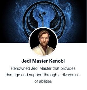 SWGoH - Jedi Master Kenobi