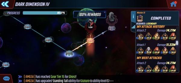 Dark Dimension 4 - Mission 13