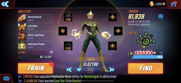 Electro - MSF