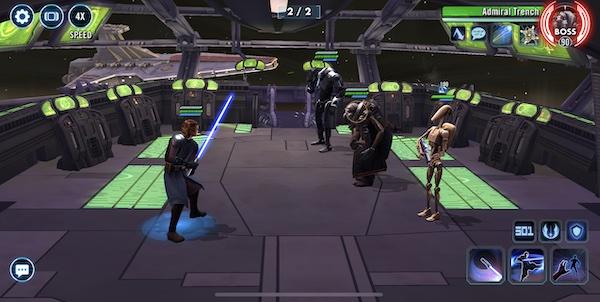 SWGoH - Lord Vader - GAS kundër Hendekut