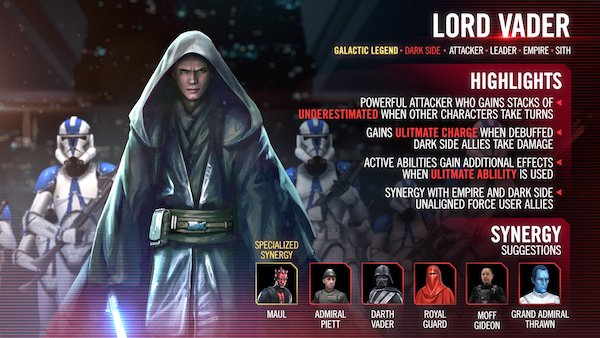 SWGoH - Lord Vader